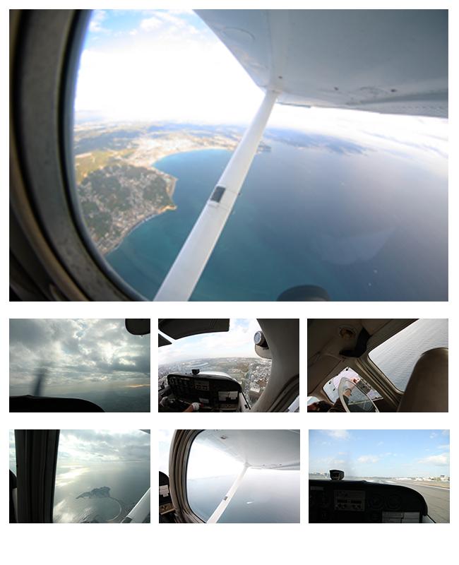小型航空機散骨